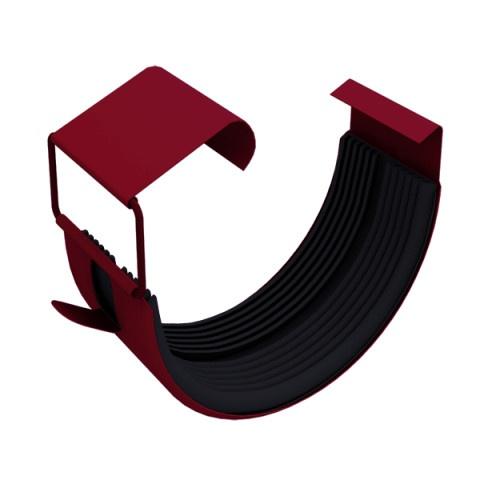 Соединение желоба металлическое 125 мм вишня GrandLine