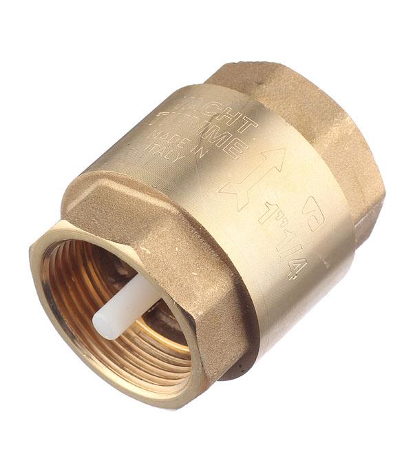 Клапан обратный 1.1/4 внутр(г) Tiemme аквалого aqualogo клапан обратный для компрессора 3 шт