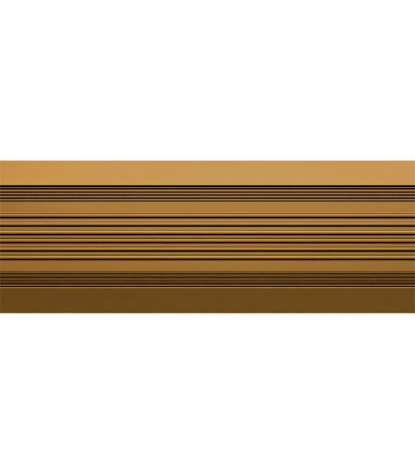 Порог  антискользящий 37х1000 мм коричневый
