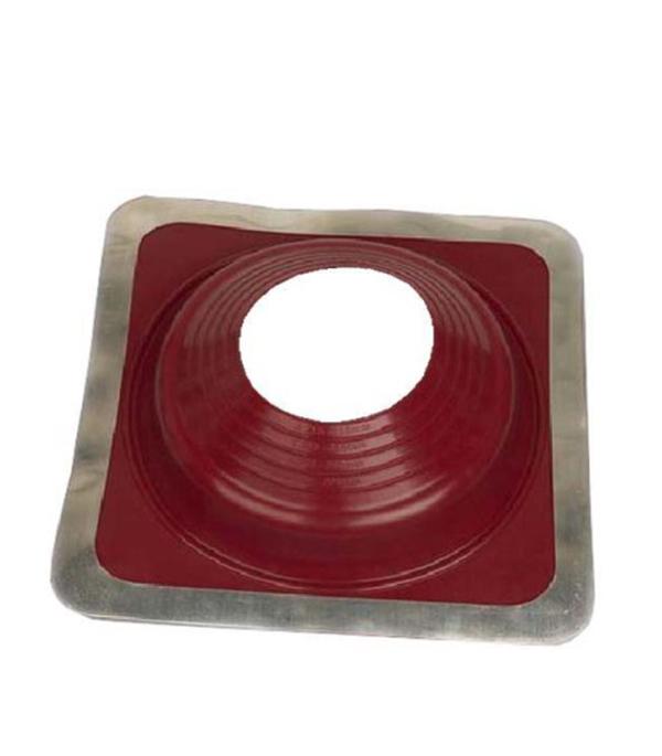 Проходник для крыш, 270х270 мм, d=102-178 мм, красный