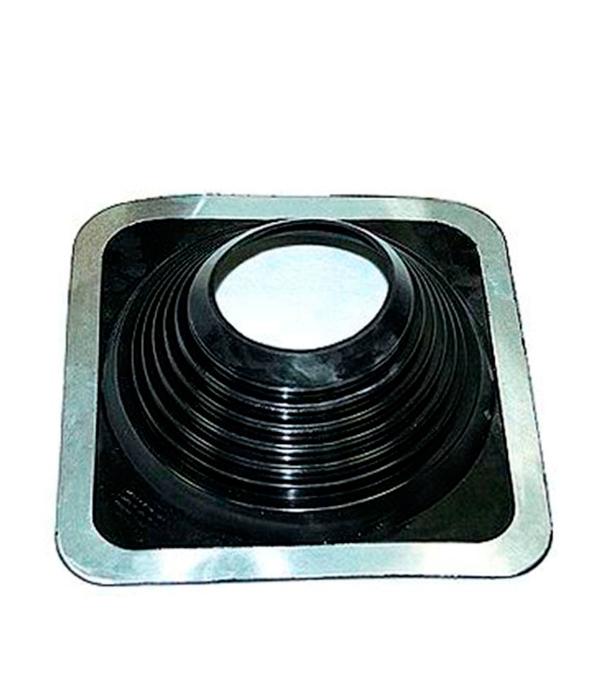 Проходник для крыш, 360х360 мм, d=152-280 мм, черный