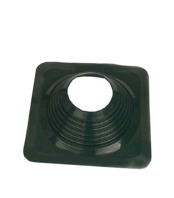 Проходник для крыш, 425х425 мм, d=178-330 мм, зеленый