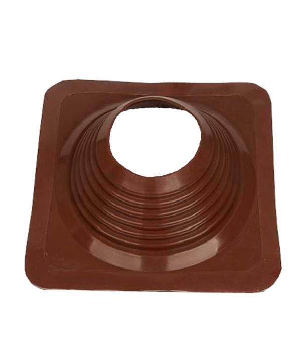 Проходник для крыш, 425х425 мм, d=178-330 мм, коричневый