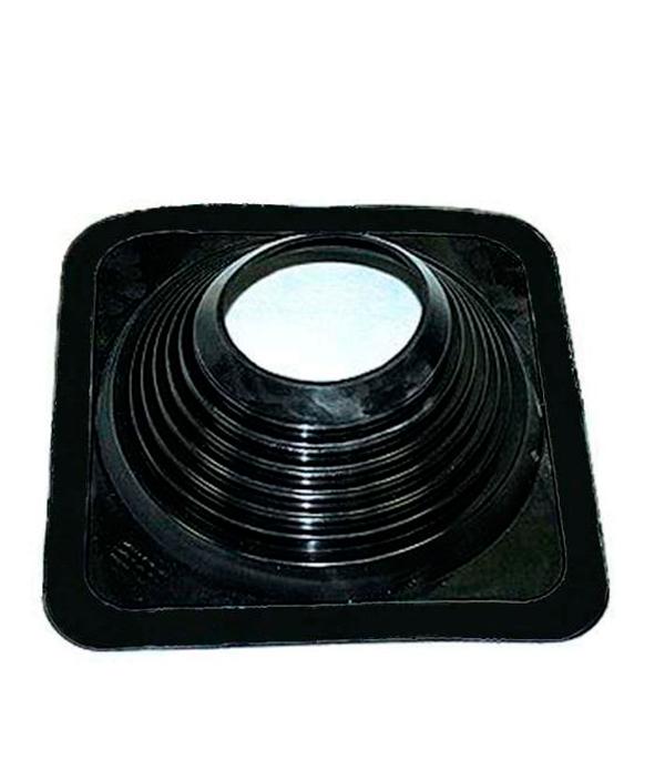 Проходник для крыш, 425х425 мм, d=178-330 мм, чёрный