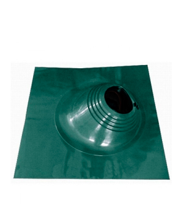 Проходник для крыш угловой, 650х650 мм, d=203-280 мм, зеленый