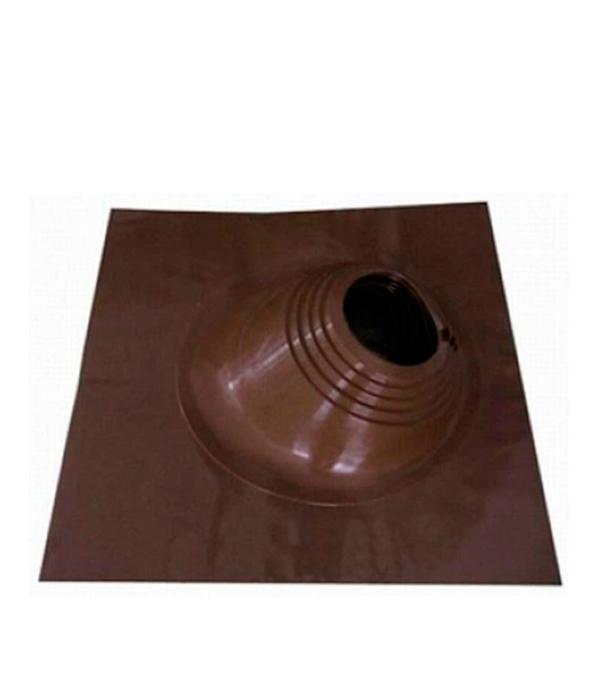 Проходник для крыш угловой, 650х650 мм, d=203-280 мм, коричневый