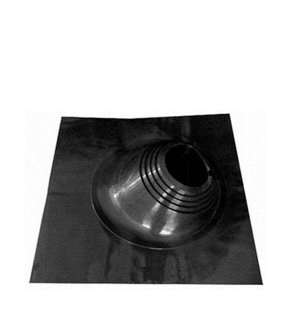 Проходник для крыш угловой, 650х650 мм, d=203-280 мм, чёрный
