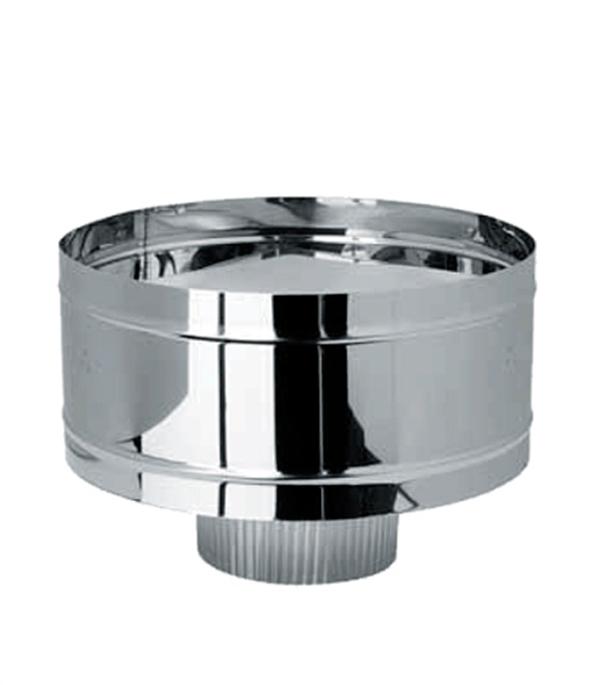 Дефлектор-К (зонт с ветрозащитой) из нержавеющей стали, d=115 мм