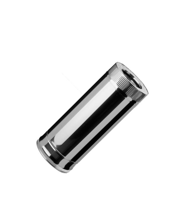 Дымоход из нержавеющей стали, d=120 мм, 0,5 м