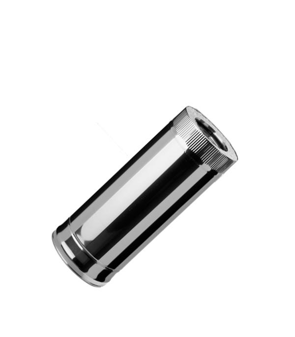 Дымоход из нержавеющей стали, d=150 мм, 0,5 м