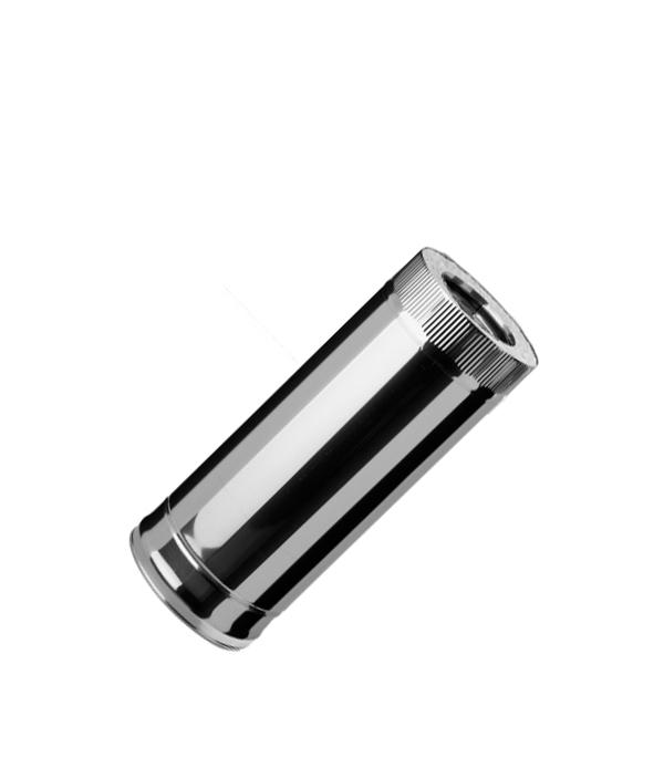 Дымоход-сэндвич из нержавеющей стали, d=115/200 мм, 0,5 м