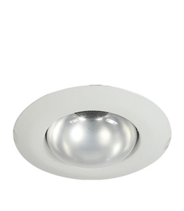 Светильник встраиваемый круглый белый 1хR63 (220В), IP20, WL-271