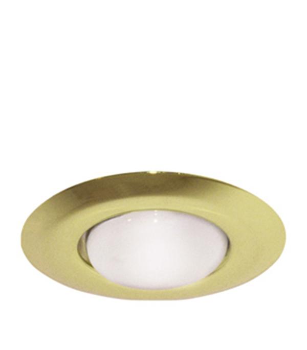 Светильник встраиваемый круглый золото 1хR50 (220В), IP20, WL-273