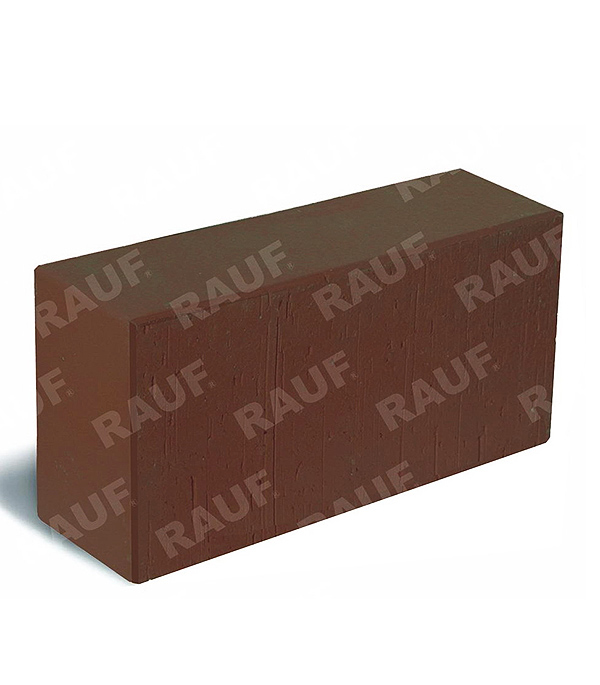 Кирпич лицевой полнотелый М300-М500 РКЗ 250х120х65 мм коричневый