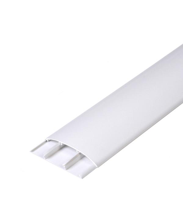 Наличник ПВХ с кабель-каналом 70х12х2200 мм Белый