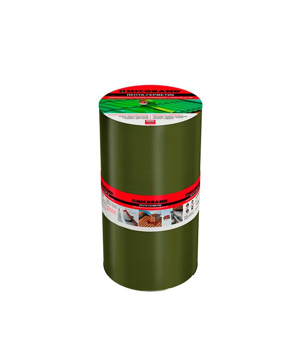 Лента гидроизоляционная Nicoband зеленый 10 м х 30 см