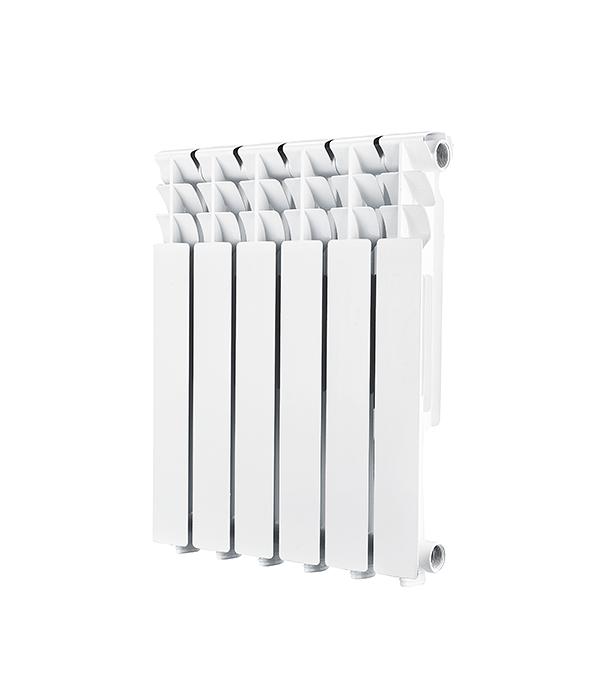 Радиатор алюминиевый 1'' 500, 6 секций