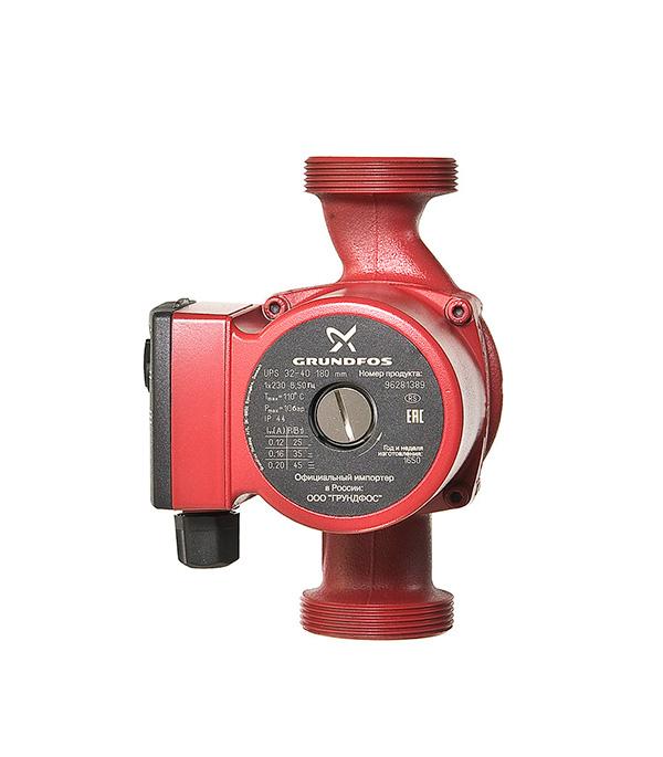 Циркуляционный насос Grundfos UPS 32-40 для систем отопления с гайками циркуляционный насос grundfos alpha2l 25 60 для систем отопления с гайками