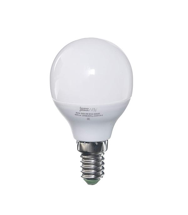 Лампа светодиодная E14 5W G45 3000K Jazzway