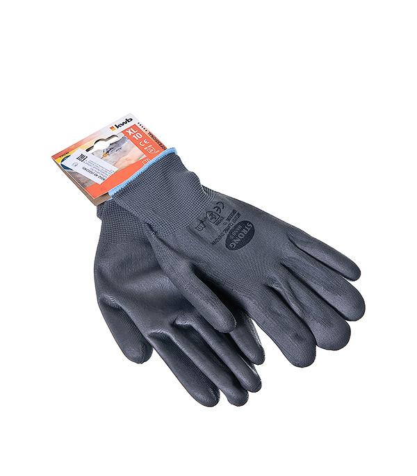 Перчатки нейлоновые с полиуретановым покрытием, бесшовные  KWB Профи