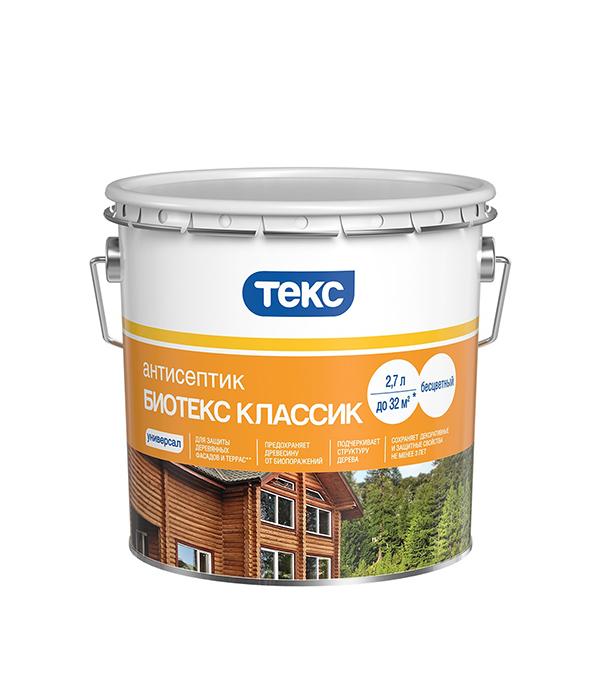 Антисептик Биотекс Классик универсал махагон 2,7 л