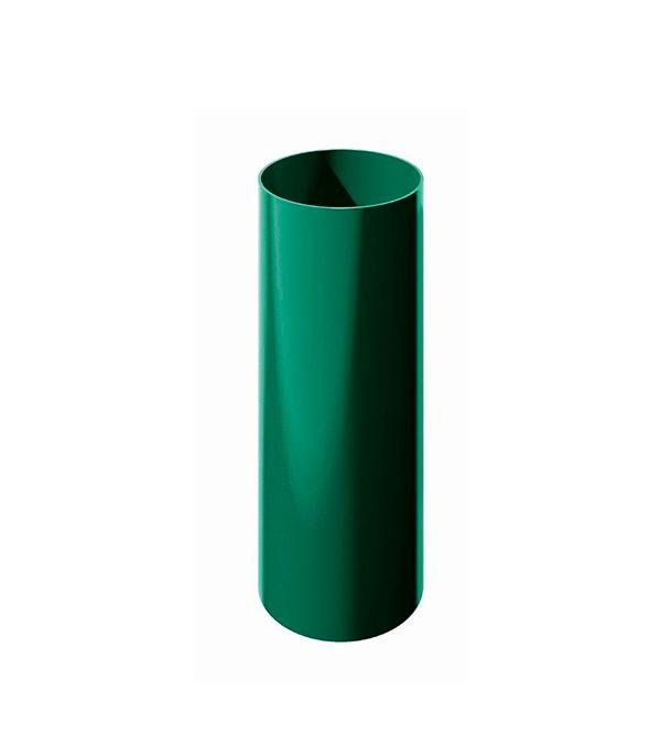 Труба водосточная пластиковая d90 мм зеленая 3 м Технониколь