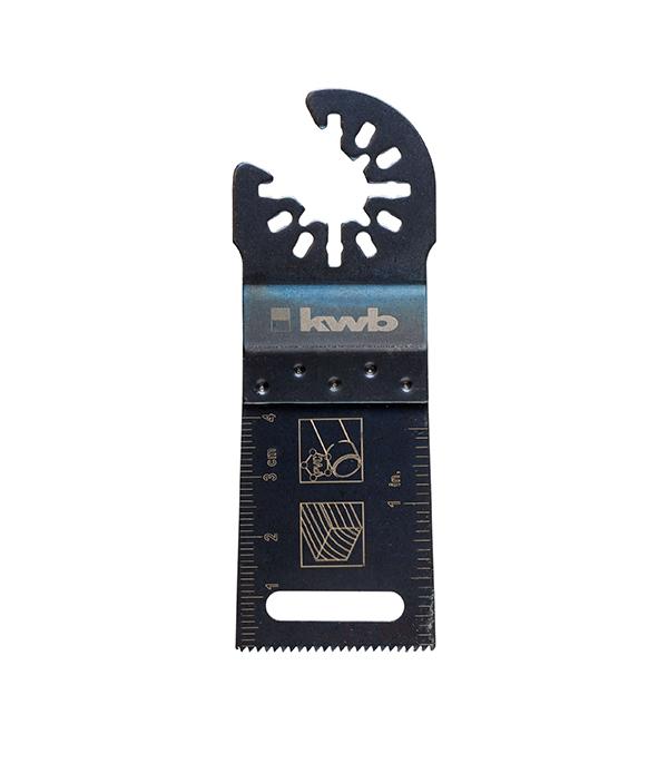 Пильное полотно по дереву KWB Стандарт 34 мм для МФУ пильное полотно по дереву kwb стандарт 25 мм для мфу