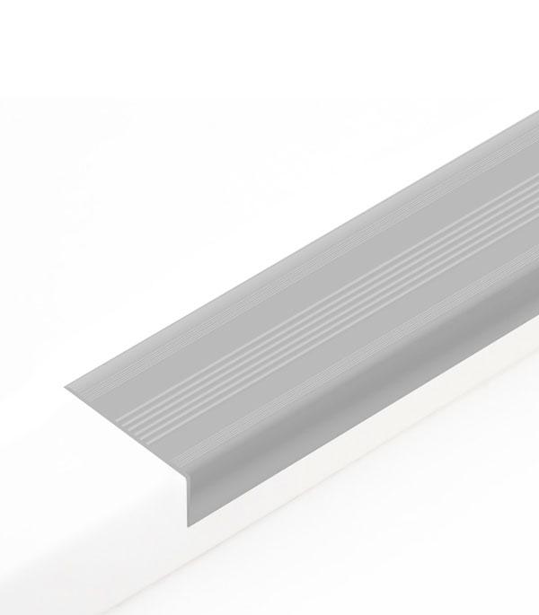 Угол антискользящий для ступеней 42х20х900 мм Темно-серый
