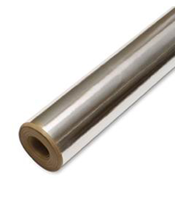 Крафт-бумага с фольгой 1,2х25 м (30 кв.м) (отраж. изоляция)