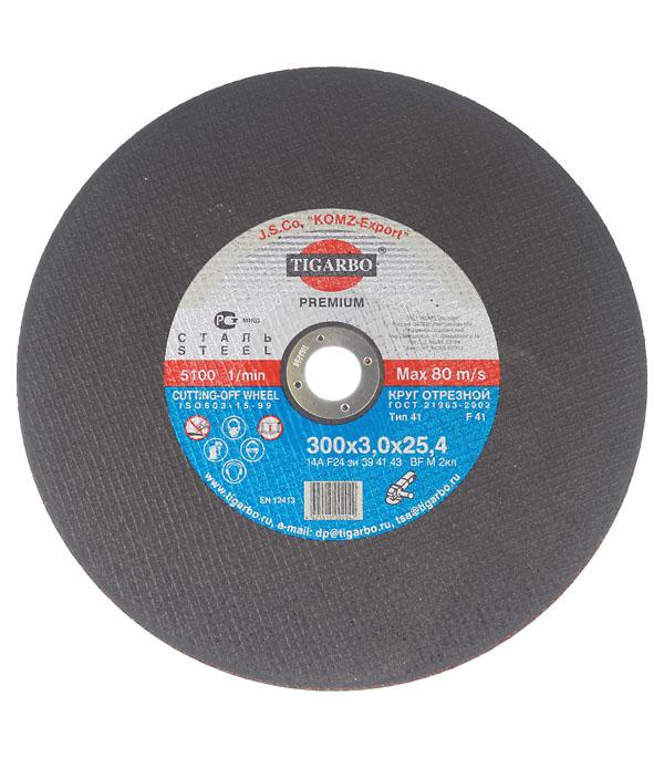 Круг отрезной по  металлу TIGARBO 300x25,4x3 мм перидот драгоценный камень чип шириной около 3 4 мм отверстие около 0 3 мм 36