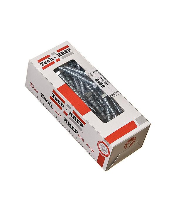 Болты сантехнические оцинкованные    6х50 мм DIN 571 (40 шт)