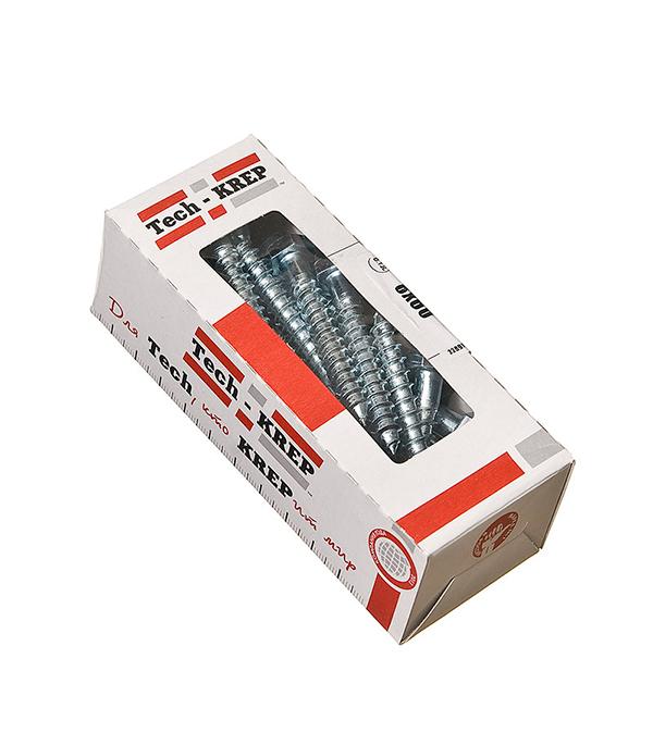 Болты сантехнические оцинкованные 8х60 мм DIN 571 (25 шт)  болты сантехнические оцинкованные 8х60 мм din 571 25 шт