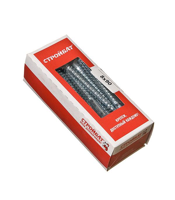 Болты сантехнические оцинкованные   8х90 мм DIN 571 (20 шт)