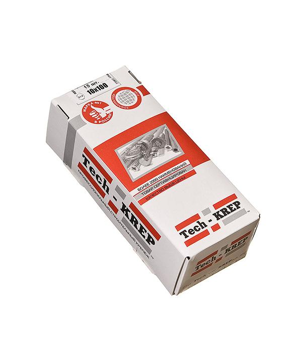 Болты сантехнические оцинкованные 10х100 мм DIN 571 (15 шт)  болты сантехнические оцинкованные 8х60 мм din 571 25 шт