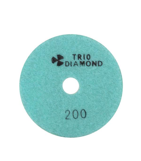 Круг алмазный шлифовальный, гибкий (АГШК) P200 d=100 мм