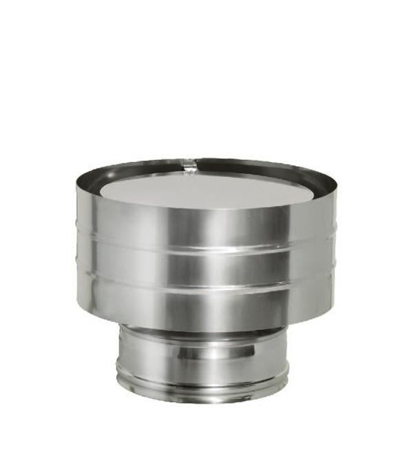 Дефлектор Дымок на трубу с изоляцией 150x230 отвод дымок 45° с изоляцией 150x230