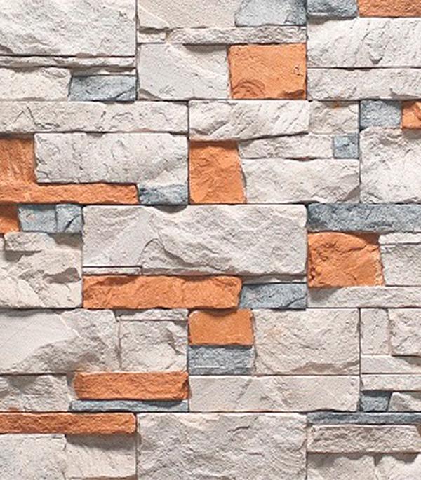 Искусственный камень Абрау  1031 (20 шт=0,5 кв.м.) керамзит фракция 10 20 мм 0 04 куб м