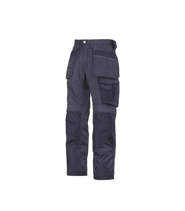 Брюки синие, размер 50, рост 170-182 Snickers workwear Профи