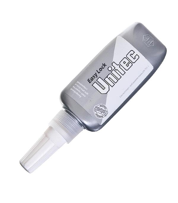 Клей для резьбовых соединений Unitec Easy Lock 50 мл unipak клей unitec gt 18 10 мл