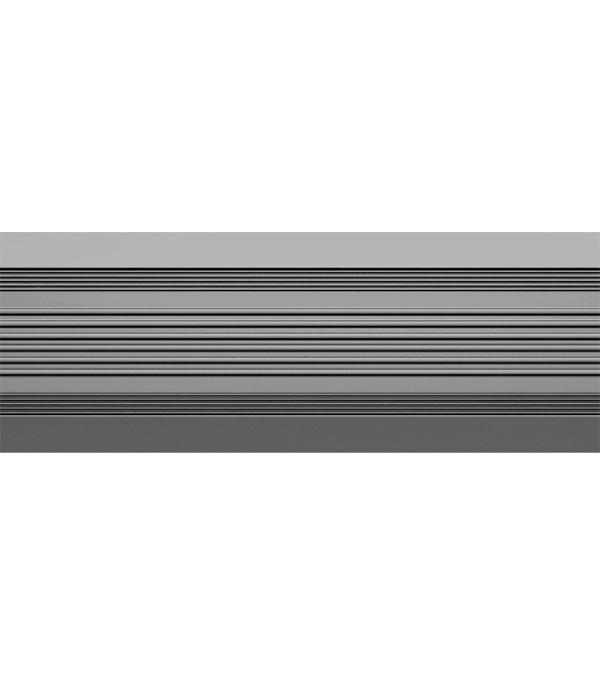 Порог  антискользящий 37х1000 мм серый