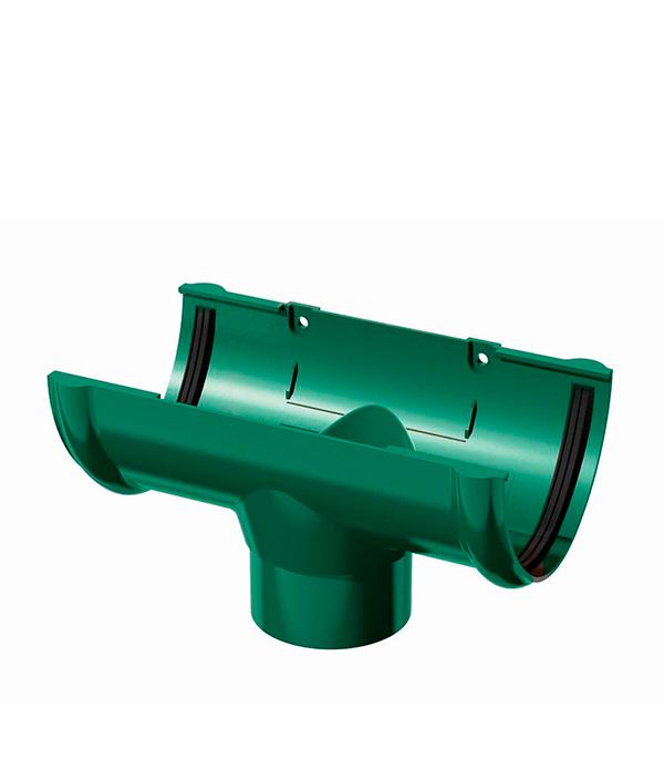 Воронка желоба пластиковая d90 зеленая Технониколь