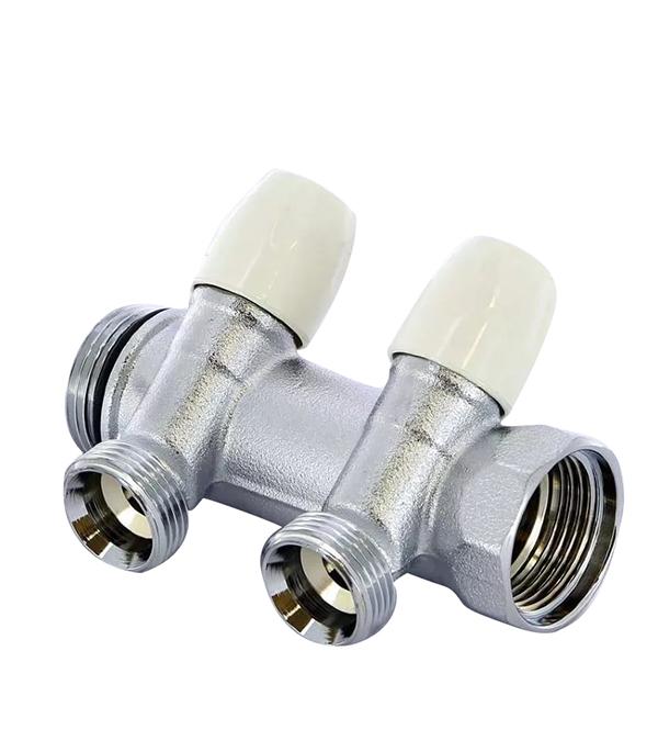 Коллектор 3/4 внутр(г)х2 отвода 3/4 нар(ш)х3/4 нар(ш) регулируемый Tiemme коллектор gf 3 4 внутр г х 4 отвода 1 2 нар ш х 3 4 нар ш регулируемый
