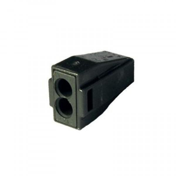 Зажим (клемма) на 2 провода  КБМ-773-302 (0,1-2,5 мм.кв) с пастой, (5 шт), TDM
