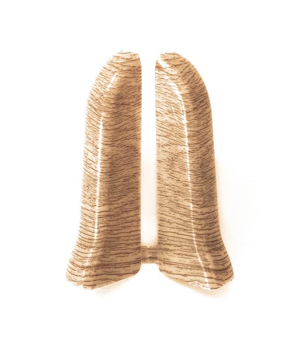 Заглушки торцевые (левая+правая) Дуб светлый 67 мм