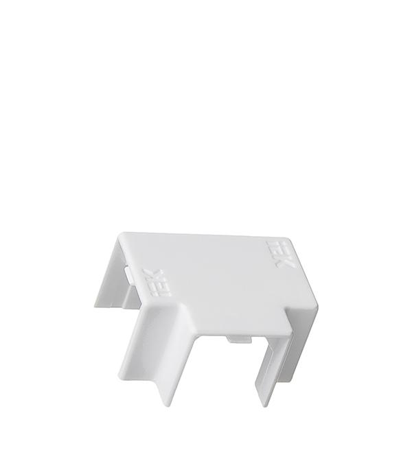 Угол Т-образный для кабель-канала 16x16 мм белый (4 шт.)