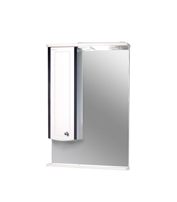 Зеркало Ольга 550 мм, шкаф слева