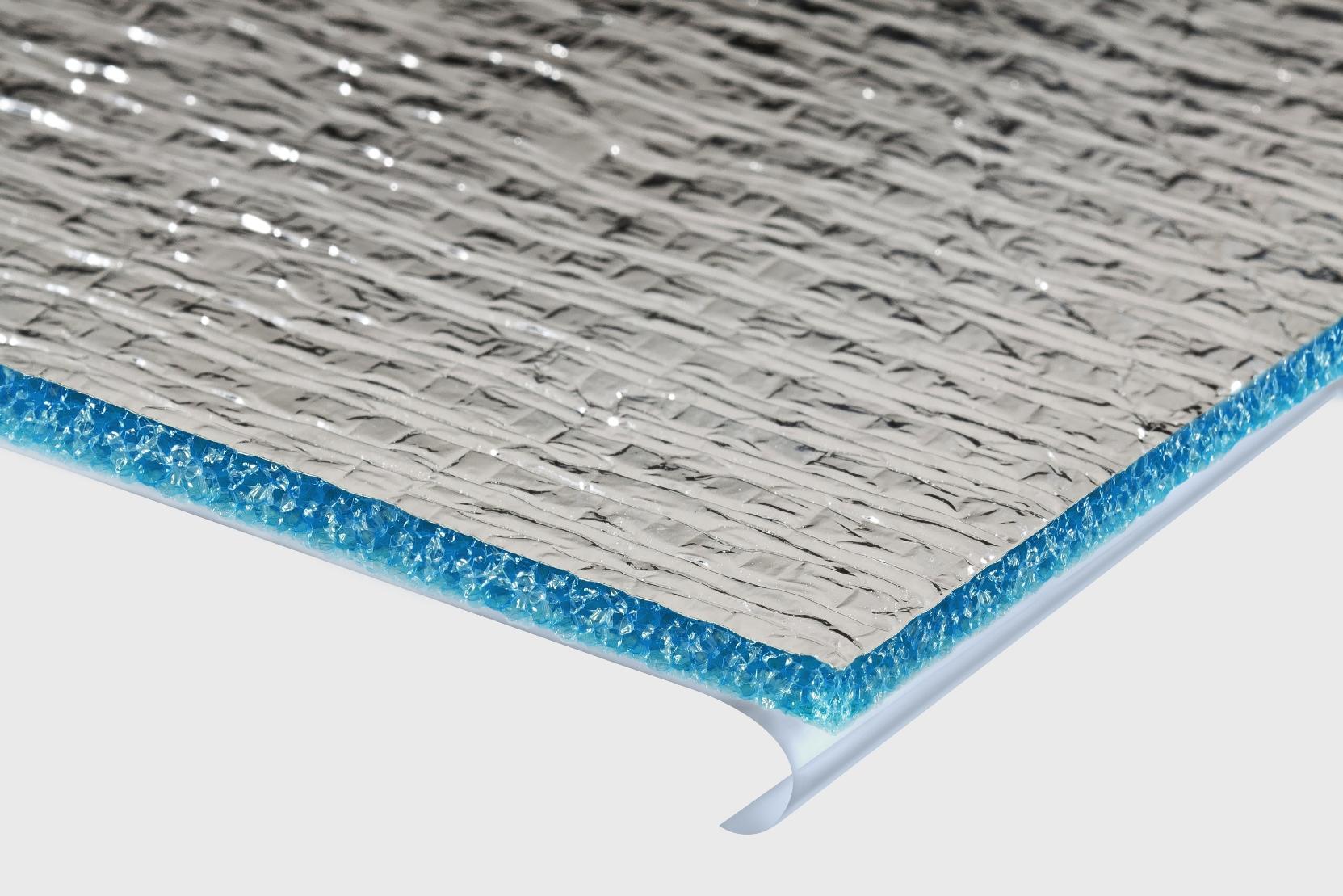 Теплоизоляция самоклеющаяся для систем кондиционирования и вентиляции Пенотерм НПЭ ЛФ 5мм (0,6х30м)