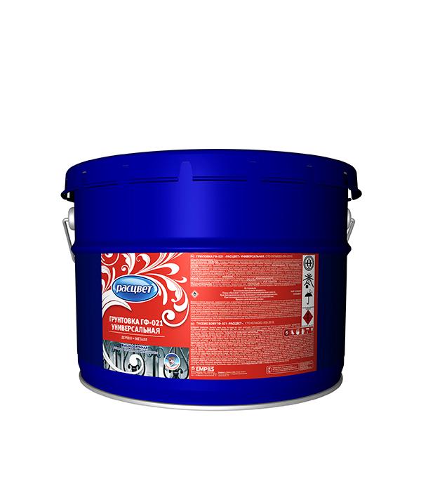 Грунт ГФ-021 красно-коричневый Расцвет Empils 12  кг бронхотуссит гф в москве