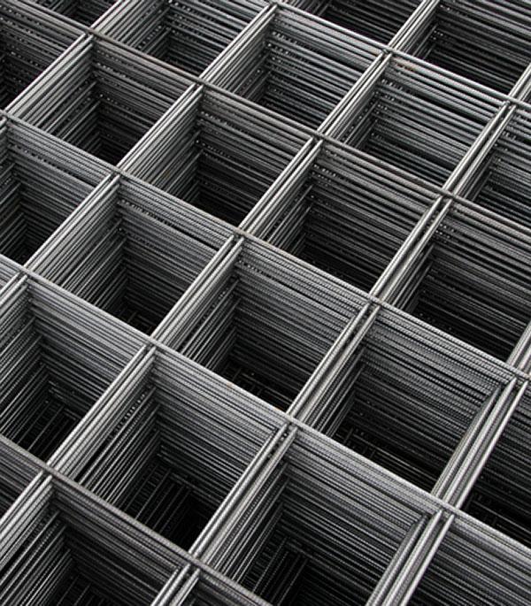Сетка арматурная 2х1,5 м d=4 мм (3,5-3,8 мм) 150х160 мм магазин для gletcher м712 4 5 мм 48478