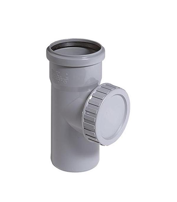 Ревизия внутренняя Ostendorf 110 мм однораструбная клапан обратный канализационный наружный 110 мм
